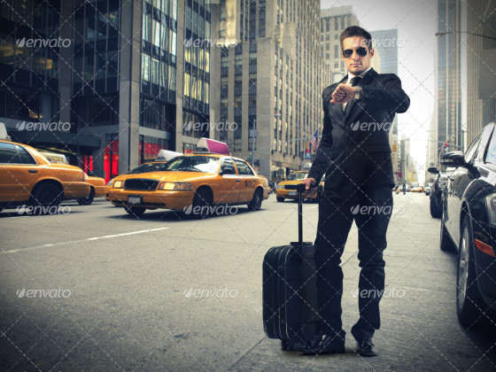 Businessman in New York