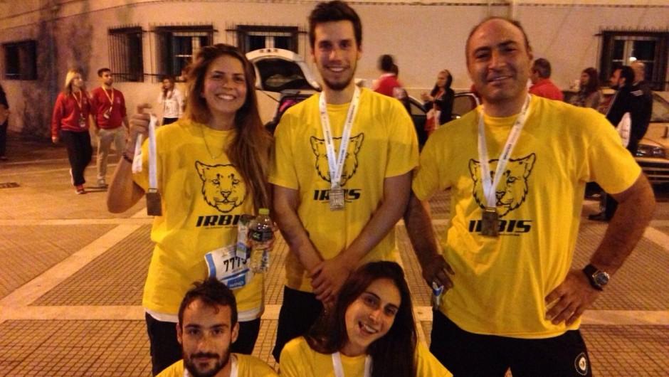 Η Irbis  στον 4ο διεθνή νυκτερινό ημιμαραθώνιο Θεσσαλονίκης   Σάββατο 10 Οκτωβρίου 2015