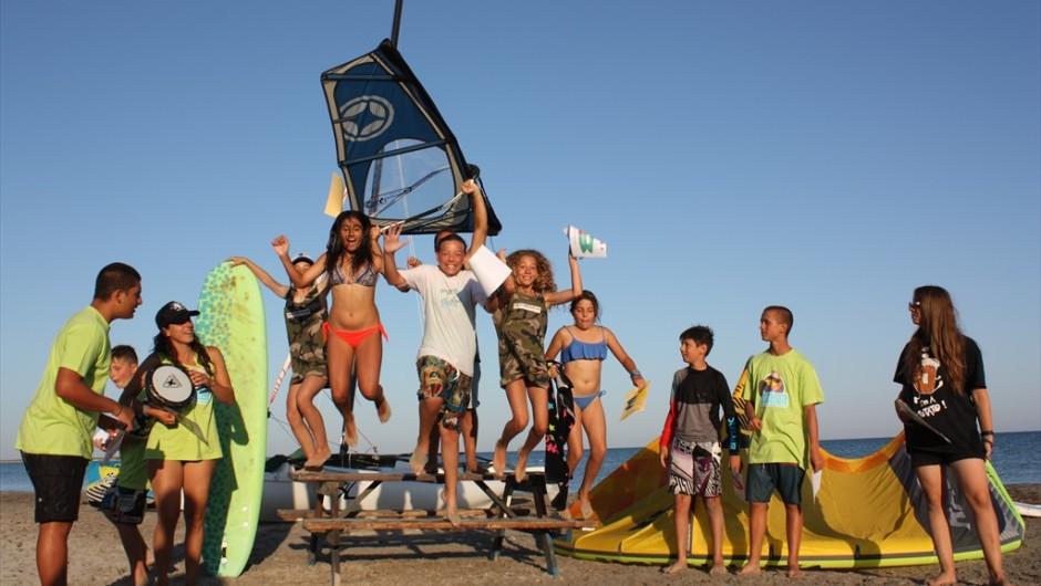 Irbis meets Surfing Birds # 14.07 -25.07 2016 # Λήμνος