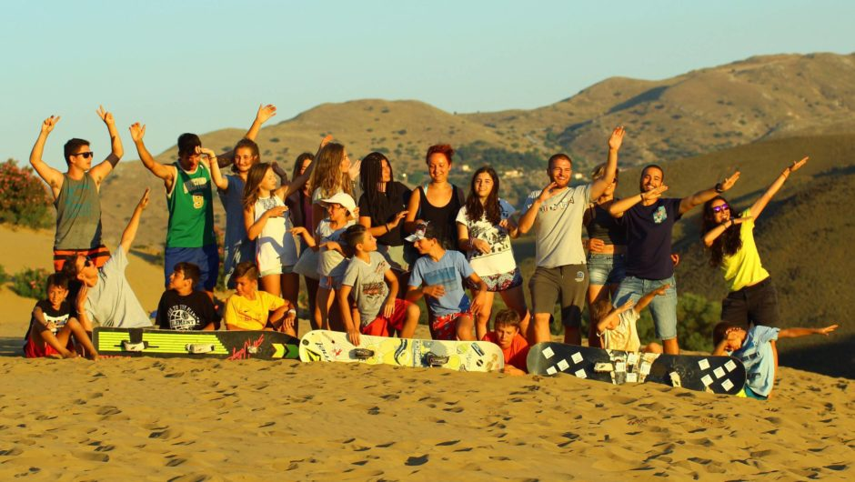 Irbis # Summer 2018 # Surfing Birds Kids Camps – Λήμνο
