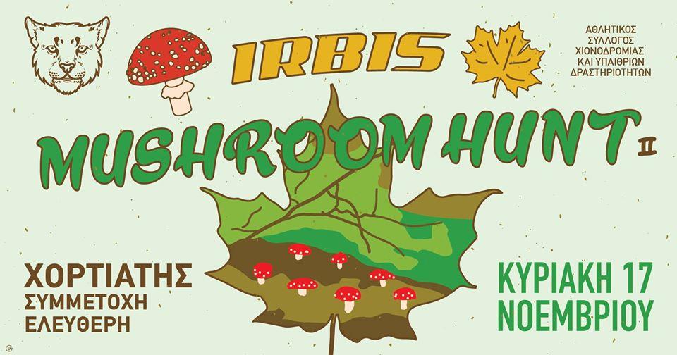 Irbis Mushroom Hunt II # <b>17</b> Νοεμβρίου